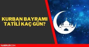9 günlük tatil ne zaman başlıyor? Arefe günü hangi gün? Kurban Bayramı  hangi güne denk geliyor?