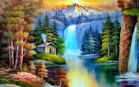 Nature Painting wallpaper ...