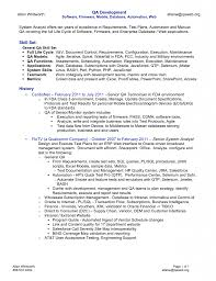 Stunning Qtp Testing Resume Photos Simple Resume Office