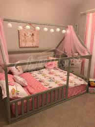 Grey, pink and white girls room interior ideas, little princess room ...
