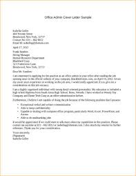 office admin cover letter sample office admin cover letter sample covering letter for admin job