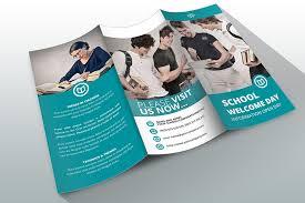 tri fold school brochure template free education brochure template ender realtypark co