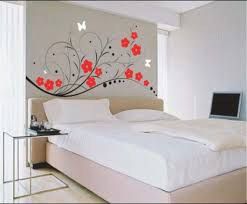 Wall Painting Designs For Bedroom Bedroom Wall Painting Designs