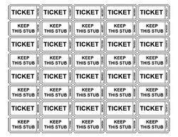 Raffle Tickets Printing Raffle Tickets Print Under Fontanacountryinn Com