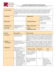 Best Photos Of Six Sigma Project Plan Template Six Sigma Project