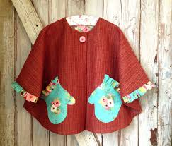 Childs Cape Pattern Inspiration MAISIE Girls Reversible Cape Pattern Little Red Riding Hood
