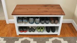 Shoe Storage Projects for Small Spaces