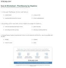 Pied beauty essay