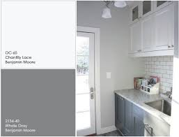 exterior paint on kitchen cabinets. white and gray kitchen cabinet paint color. the upper color is chantilly exterior on cabinets n