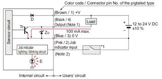 ultra slim body picking sensor na1 pk5 na1 5 i o circuit and npn output type na1 pk5 na1 5 i o circuit diagram