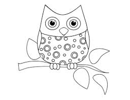 Owl Coloring Pages Pdf To Download Free Jokingartcom Owl Coloring