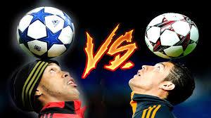 Cristiano Ronaldo vs Ronaldinho ○ Freestyle ○ Crazy Tricks - Vidéo  Dailymotion