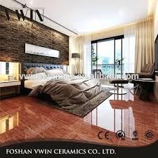 bedroom floor tiles. Glossy Floor Tiles Dark Brown Wooden Like Bedroom White .