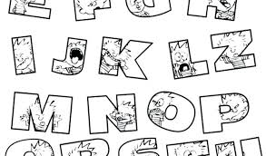 Abc Letters Coloring Pages Free Printable Alphabet Coloring Page