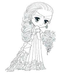 Pretty Coloring Pages Of Girls