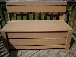 Outdoor Wooden Bench With Storage Plans