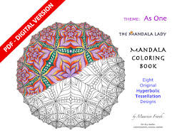 Small Picture As One DIGITAL Mandala Coloring Book PDF VERSION