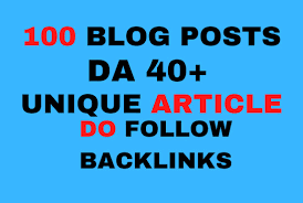 Do 100 guest post with dofollow backlinks by Hosaiin | Fiverr
