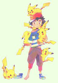 Ash and Pikachu   Ash pokemon, Pokemon alola, Pokemon characters