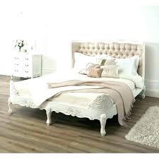 White Metal Cal King Bed Frame Ikea Size Twin Bunk Headboard Wooden ...