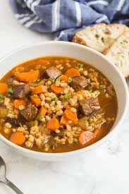beef barley soup the recipe critic