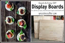 display boards are a great thing to use as a backdrop to really make your pictures pop see how i did this quick and easy little build