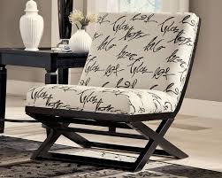 chicago furniture ashley accent seating within armless chairs inspirations 13