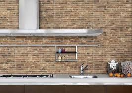 unique brick backsplash tile for