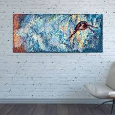 canvas print vertical huge large teal multicolor abstract wall art impressionism nataly borich art pinterest impressionism canvases and abstract  on large horizontal canvas wall art with canvas print vertical huge large teal multicolor abstract wall art