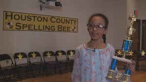Morningside 4th grader wins Houston Co. Spelling Bee   WGXA