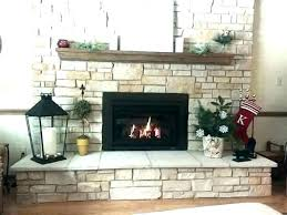 replace brick fireplace with stone reface fireplace reface brick fireplace with stone refacing fireplace fireplace refacing