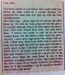 24 dear abby funny letter from a husband