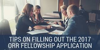 Tips On Filling Out The 2017 Orr Fellowship Application Orr Fellowship