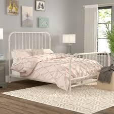 White Wrought Iron Bed Frame | Wayfair