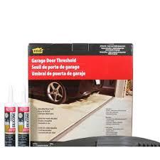 20 ft gray garage door threshold kit
