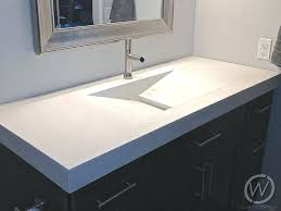 polished concrete bathroom countertops the best vanity tops images on design stained concrete bathroom countertops luxurious vanities sinks
