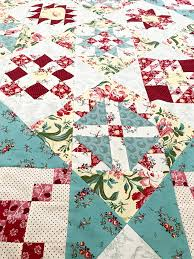 Fort Worth Fabric Studio: Raspberry and Cream BOM {Quilt Assembly} & This month we are sewing our blocks together! This is an