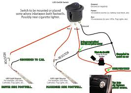 wiring diagram for led lights the wiring diagram footwell led lights wiring diagram diy honda civic forum wiring diagram