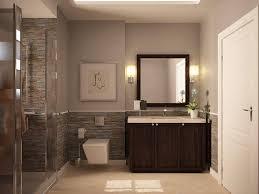 Half Bathroom Vanity Half Bathroom Ideas Photos Gray Wall Paint Plus White Wainscoting
