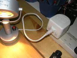 ikea 12v halogen lamp fix