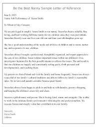 Babysitter Reference Letter Babysitter Recommendation Letter Example