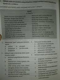 Dengan buku siswa bahasa indonesia smp/mts kelas vii (7) ini diharapkan siswa memiliki kompetensi dalam mendengar, membaca, menulis, menyajikan secara lisan, memiliki pengetahuan yang. B Indonesia Buku Solatif Brainly Co Id