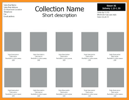 Line Sheet Template Download. 12 Sample Raffle Sheet Templates To ...