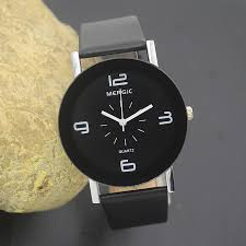 online buy whole nice mens watches from nice mens black and white arabic men unisex fashion watch women dress caual gift lady girl child kids