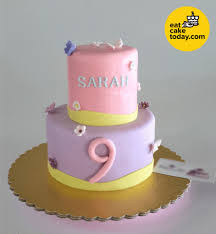 2 Tier Fondant Cake Customized Eat Cake Today Delivery Klpj