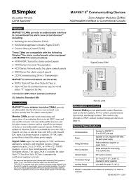 zone adapter modules fire alarm wiring diagram addressable at Communication Device Fire Alarm Wiring Diagram