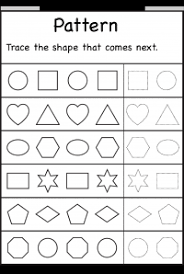 Patterns For Preschool Enchanting Preschool Worksheets For Patterns48 Myscres