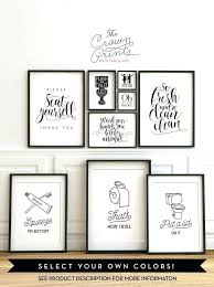 bathroom art ideas printable bathroom wall art from the crown prints on lots of funny quotes bathroom art ideas  on wall decor ideas for bathrooms with bathroom art ideas 7 cute easy bathroom wall art ideas bathroom wall