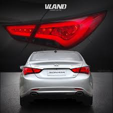 2012 Hyundai Sonata Rear Brake Light Us 288 0 Vland For Hyundai Sonata 2011 2014 Tail Lights Led Brake Light Bar Clear Lens Rear Lamp In Car Light Assembly From Automobiles