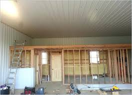 garage inside wall coverings pole barn interior wall covering inspiring amazing ideas com interiors garage wall